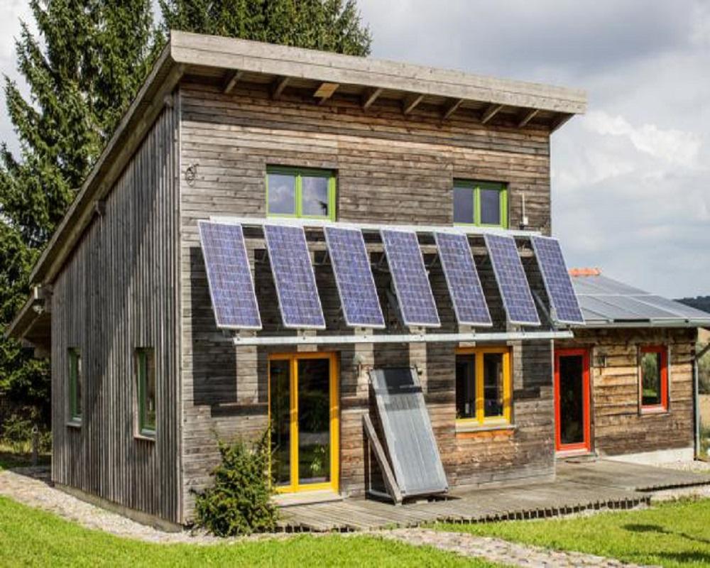 Une maison éco-énergétique