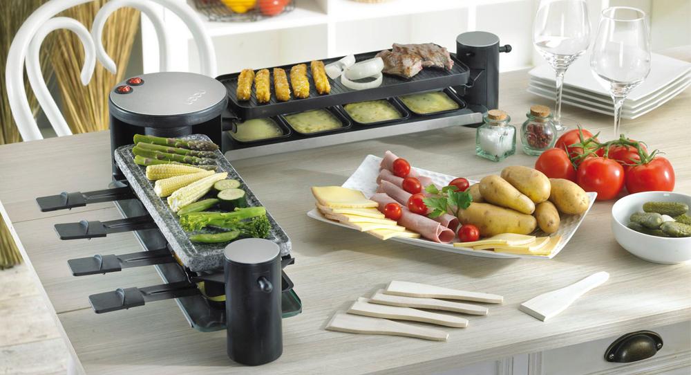 trouver une machine raclette pour deux avec un. Black Bedroom Furniture Sets. Home Design Ideas