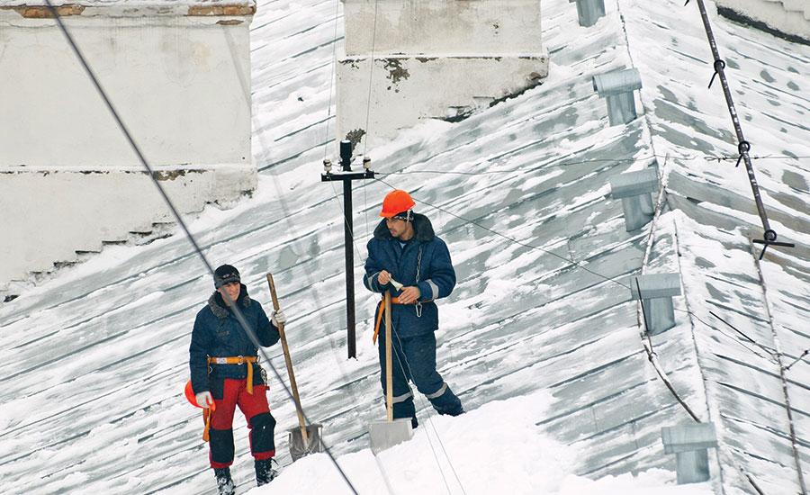 Rénovation toiture hiver