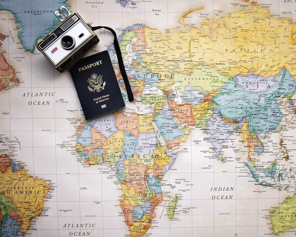 Carte du monde est idéale pour une décoration ludique